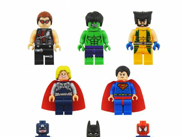 Лего человечки- супергерои, фотография 1