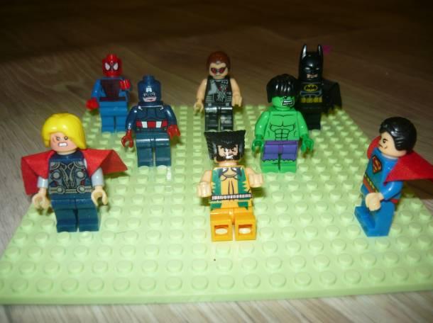 Лего человечки- супергерои, фотография 2
