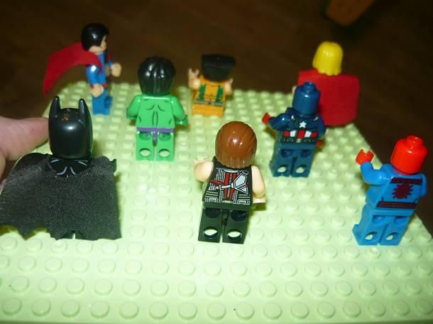 Лего человечки- супергерои, фотография 3