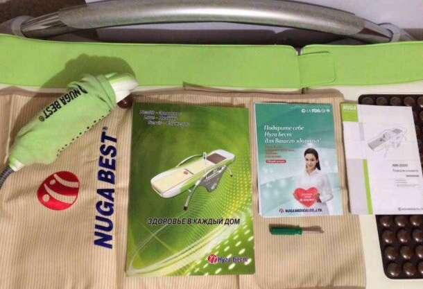 Массажная лечебная кровать nuga best NM-5000, фотография 2