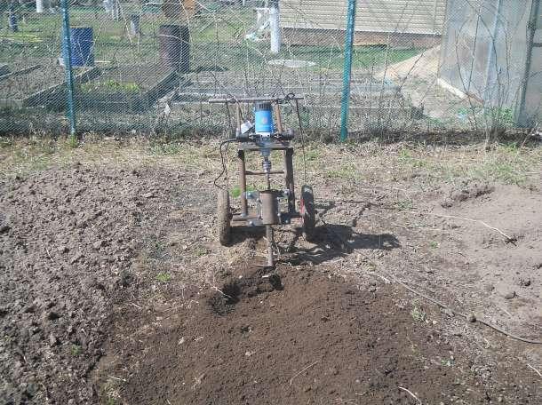 электрокультиватор для безотвальной обработки почвы., фотография 1