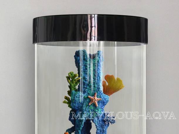 Изумительный аквариум для рыбок на 130л, фотография 1
