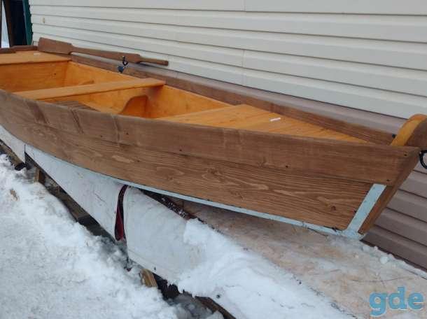 Лодка деревянная, фотография 7