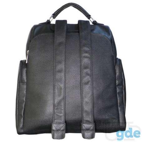 Рюкзак мужской из натуральной кожи 608Б, фотография 3