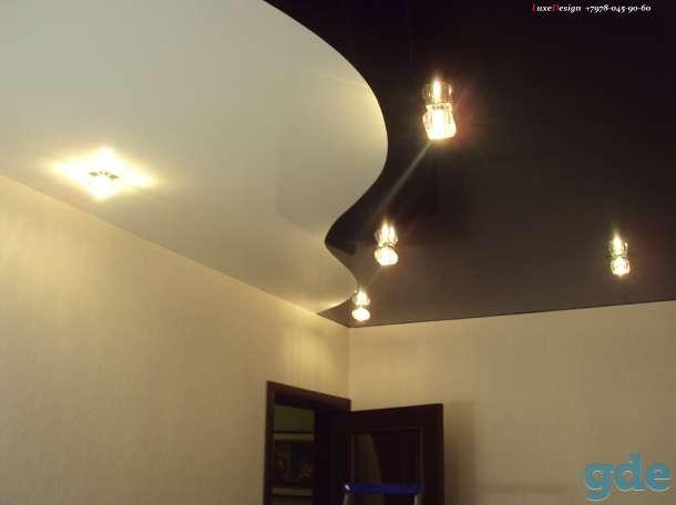 Комбинированные натяжные потолки -красота в вашем доме, фотография 5