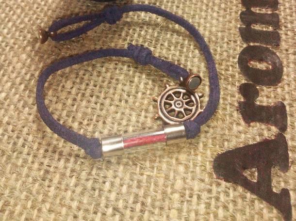 Изысканный браслет с аромтической капсулой, фотография 3