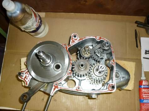 Ремонт двигателей грузовой мотороллера (муравей), фотография 1