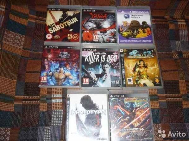 Sony Playstation 3 игры, фотография 1