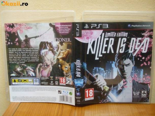 Sony PlayStation 3 killer is dead limited edition, фотография 1