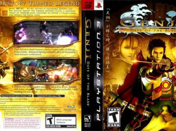 Sony PlayStation 3 Genji Days of the Blade, фотография 1
