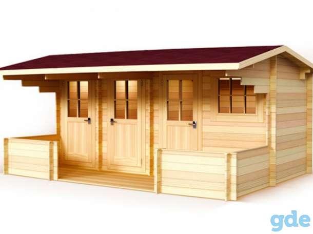 Дачный домик  с террасой, фотография 5