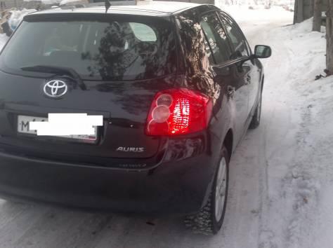 Toyota Auris, 2007 год 1.6 литра, бензин, Robot, FF, левый руль, фотография 3