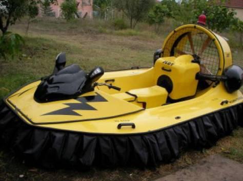 Продается катер на воздушной подушке Jedy Hovercraft, фотография 7