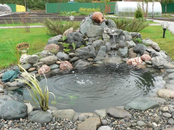 Изготовление прудов и водопадов для Вашего дома и дачи, фотография 4