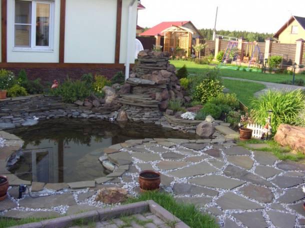 Изготовление прудов и водопадов для Вашего дома и дачи, фотография 5