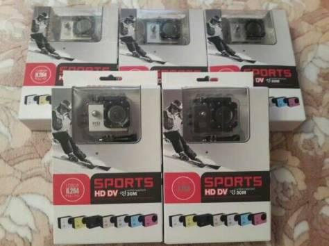 Лучший Аналог GoPro Экшн камера SJ4000 12 креплений+монопод , фотография 4