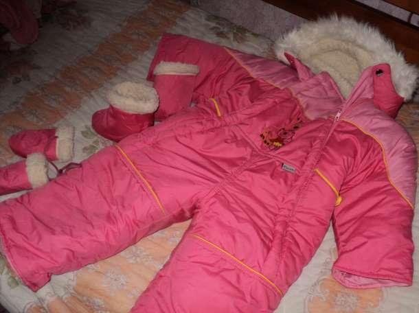 Комбинзон зимний возраст от 0-2 лет, фотография 1