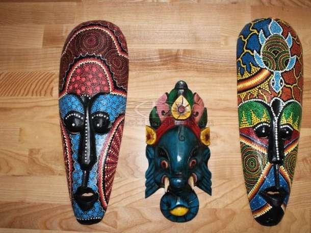 Африканские маски, фотография 4