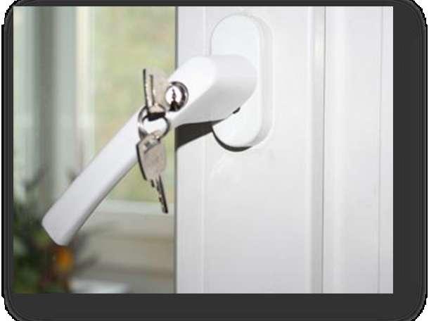 услуги - ставим защиту ( замки и ручки ) на пластиковые окна     ПВХ, фотография 3