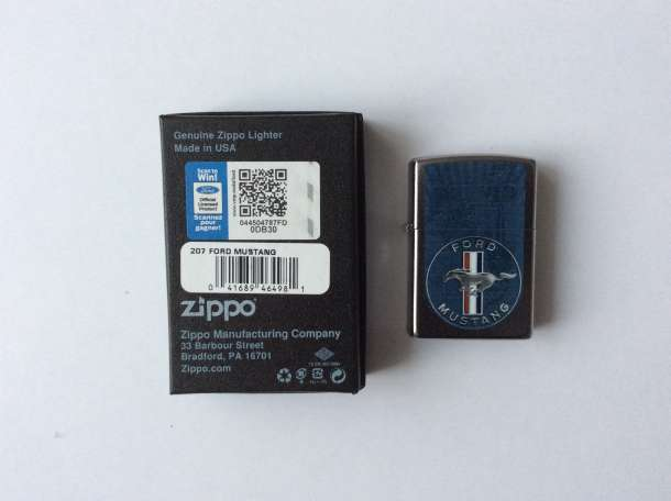 Зажигалка Zippo Ford Mustang Emblem, фотография 2