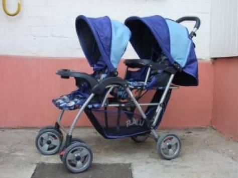 Продам коляску для двойни новая, фотография 1