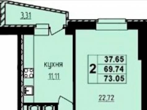 Продажа 2-х комнатной квартиры г. Отрадное Ленинградской области, фотография 1