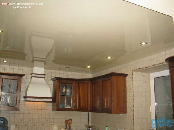Натяжные потолки для кухни, фотография 4