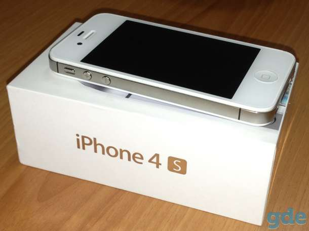 Смартфон Apple IPhone 4S 8Гб белый, фотография 1
