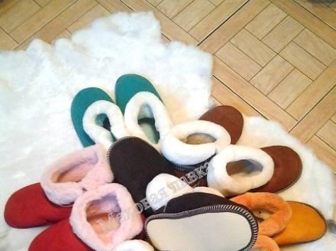 Чуни,чувяки,тапочки из овечьих шкур в ассортименте, фотография 1