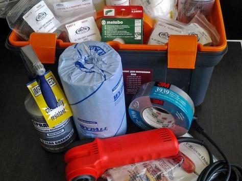 Комплект для полировки фар Delta Kits HLPRO302, фотография 1