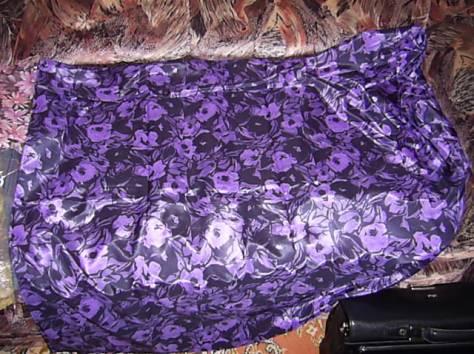 Ткань Шелк с отливом сиренево-черные цветы 4х1,1 м. ц. 2200 р., фотография 2