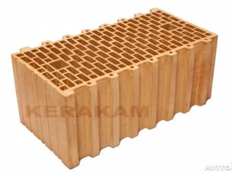 кирпич цокольный м-150  и  керамические  блоки керакам , фотография 1