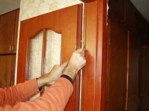 Уплотнитель для межкомнатной двери своими руками