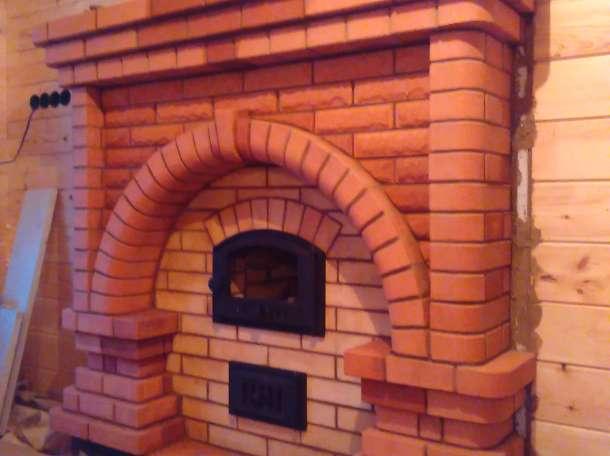 Внутренняя,наружная, отделка печи,камины,барбекю,ремонт, фотография 2