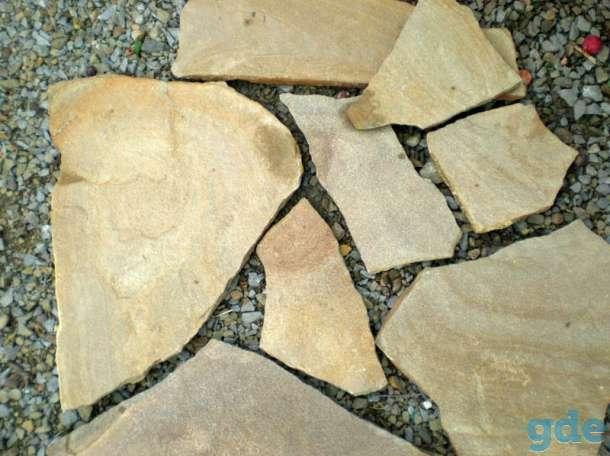 Натуральный камень Фисташка пластушка песчаник, фотография 1