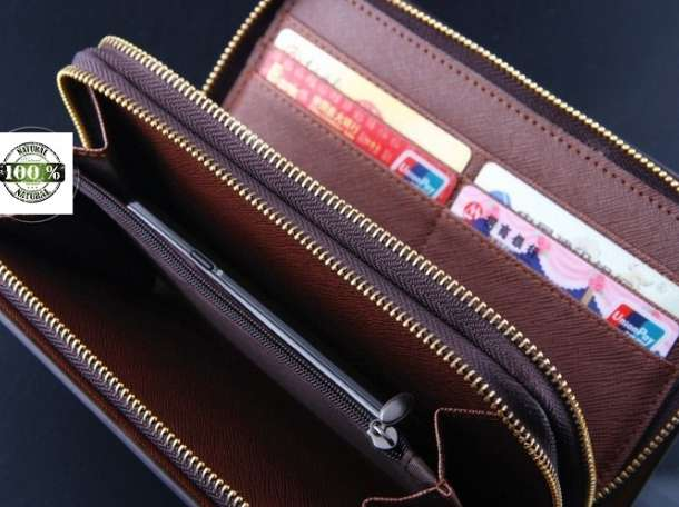 Кожаный клатч Apple 2D, фотография 2