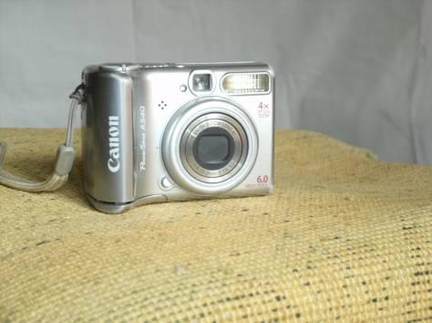 Цифровой фотоаппарат CANON PowerShot A540, фотография 1