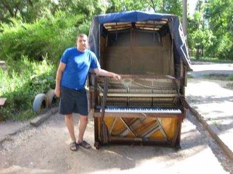 Перевозка пианино в Воронеже, фотография 5