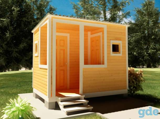 Дачный домик  с террасой, фотография 6