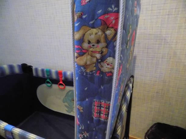 Продам б/у кроватку-манеж Capella (4х1), фотография 1
