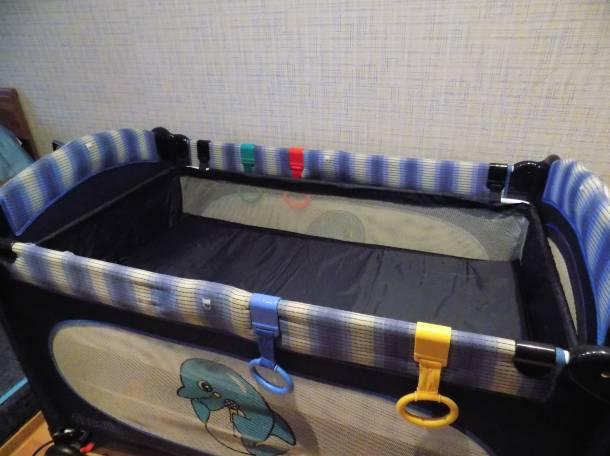 Продам б/у кроватку-манеж Capella (4х1), фотография 2