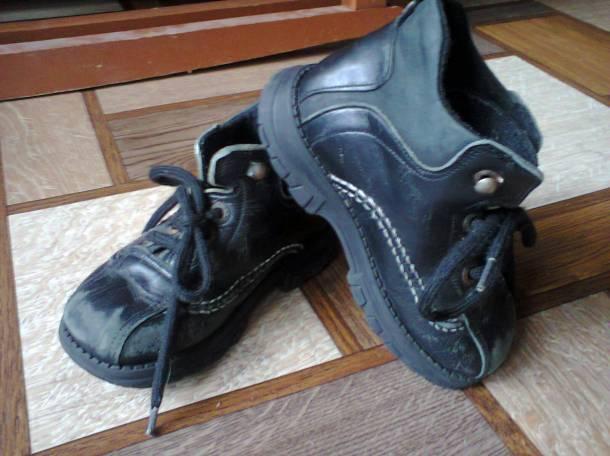 Ботиночки, 25 размер, по стельке 16 см., фотография 1