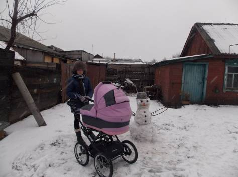 продам коляску в отличном состоянии зима-лето, фотография 2