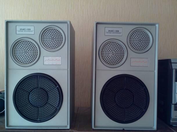 Продаю акустическую систему 25АС-109 , фотография 1