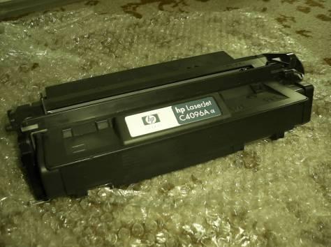 Картридж для принтера модель HP С4096А Используется , фотография 2