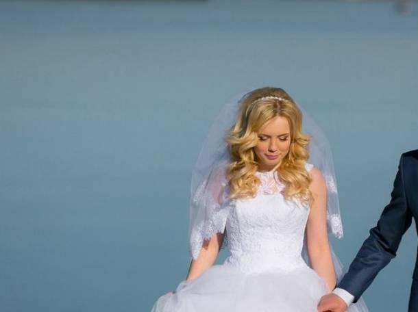 Красивое свадебное платье, фотография 2