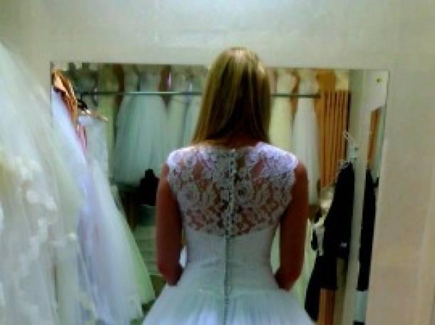 Красивое свадебное платье, фотография 4