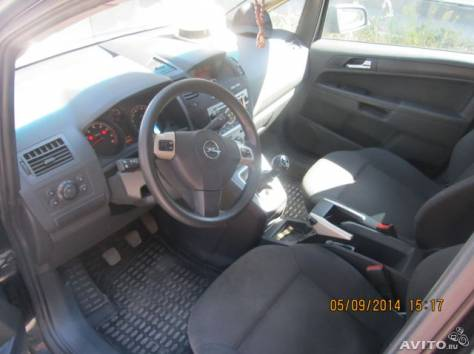 Opel Zafira 1,6 2008 г, фотография 3