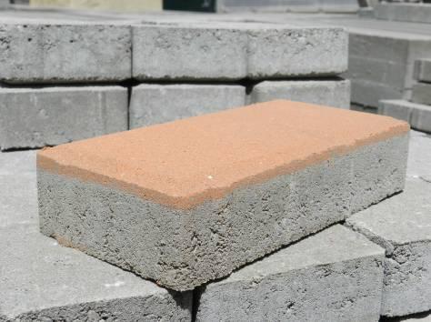 Производство вибропрессованной тротуарной плитки, бордюров, фотография 2