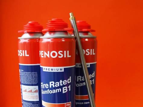 Огнестойкая монтажная пена Penosil и противопожарные герметики., фотография 2